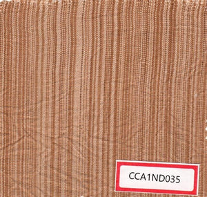 Light Brown And Yellow 100% Cotton Natural Dye Fabric