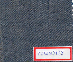 Blue With Grey 100% Cotton Natural Dye Fabric