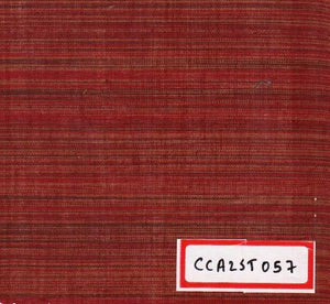 FM06_100% cotton Red Textured Fabric
