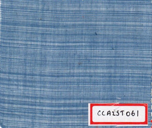 FM06_100% cotton Cyan Chambray Fabric