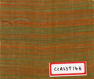 FM02_100% cotton Orange Chambray Fabric
