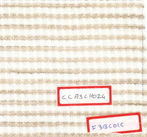 FM02_100% cotton White Textured Fabric