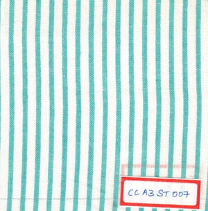 FM02_100% cotton Cyan Stripes Fabric