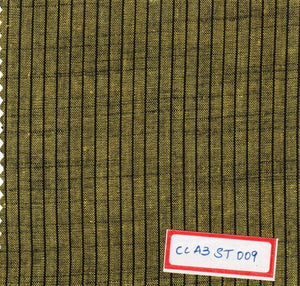 FM02_100% cotton Yellow Slub Fabric