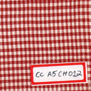 FM06_100% cotton Red Checks Fabric