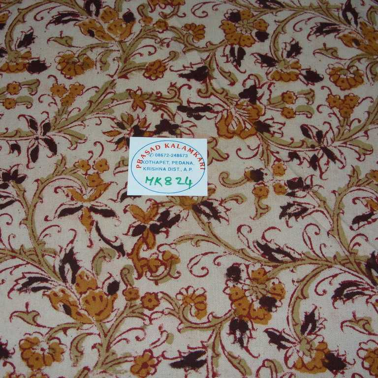 100% Cotton Kalamkari Fabric