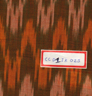 FM06_100% cotton Orange Fabric