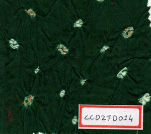 FM06_100% cotton Green Prints Fabric