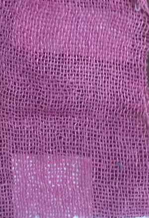 Pink 100% Cotton Textured Fabric
