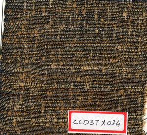 Black And Brown 100% Cotton Textured Fabric