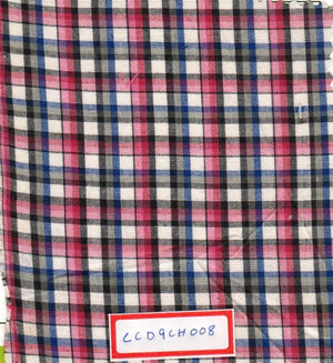 FM06_100% cotton Checks Fabric