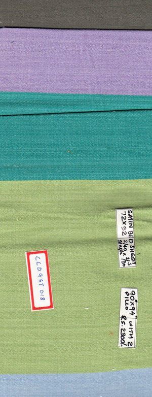 FM06_100% cotton Green Textured Fabric
