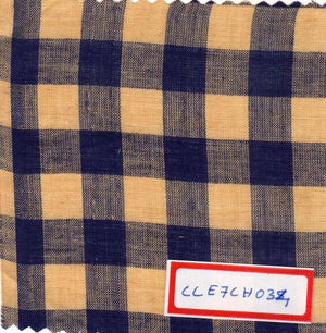 FM06_100% cotton Purple Checks Fabric