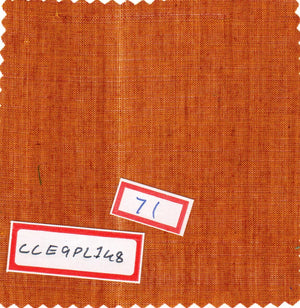 FM02_100% cotton Orange Slub Fabric
