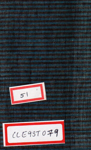 FM06_100% cotton Cyan Textured Fabric