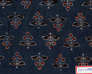 FM06_100% cotton Blue Prints Fabric