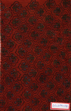 FM06_100% cotton Red Prints Fabric