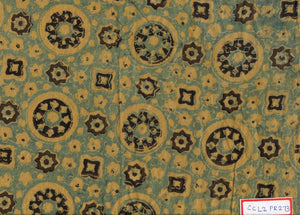 FM06_100% cotton Yellow Prints Fabric