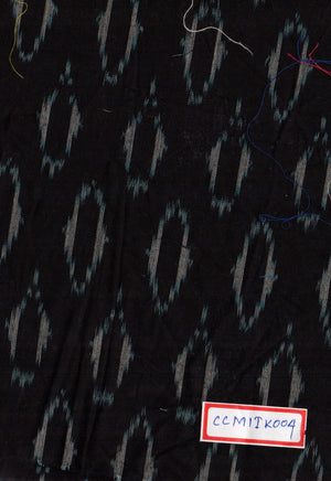 FM06_100% cotton Black Prints Fabric