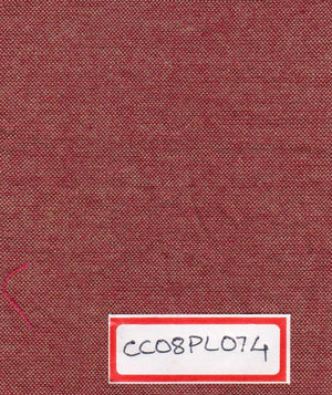 FM06_100% cotton Red Chambray Fabric