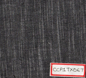 Black 100% Cotton Textured Fabric