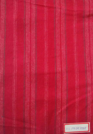 FM02_100% cotton Red Fabric