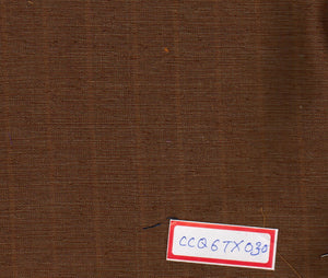 Brown 100% Cotton Textured Fabric