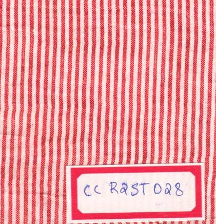 Pink,White 100% Cotton Stripes Fabric Online
