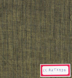 Green 100% Cotton Textured Fabric