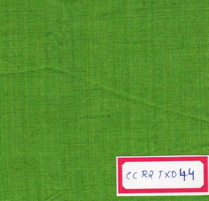 Parrot Green 100% Cotton Textured Fabric