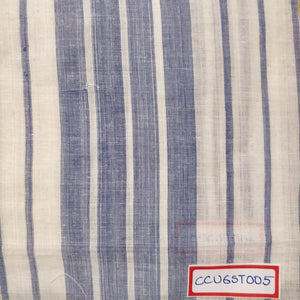 FM06_100% cotton White Stripes Fabric