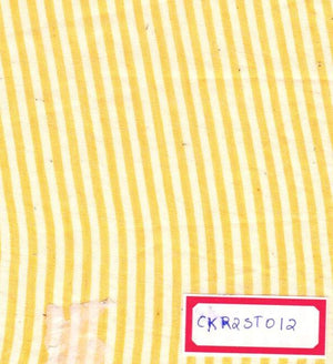 FM06_Cotton and cotton Yellow Fabric