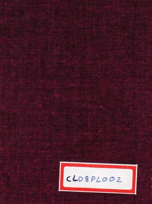 FM06_Cotton and linen Red Fabric