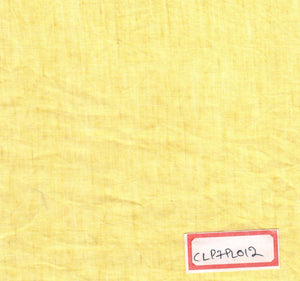 FM06_Cotton and linen Yellow Fabric