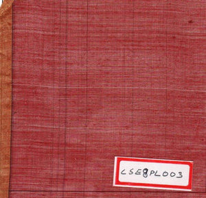 FM06_Cotton and silk Red Fabric