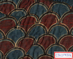 FM06_Cotton and silk Prints Fabric
