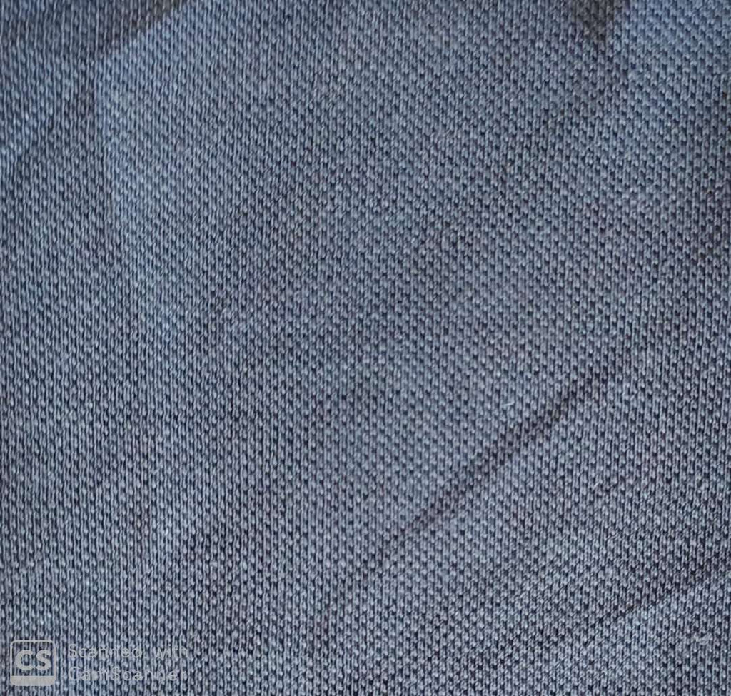 FM06_100% hemp Cyan Chambray Fabric