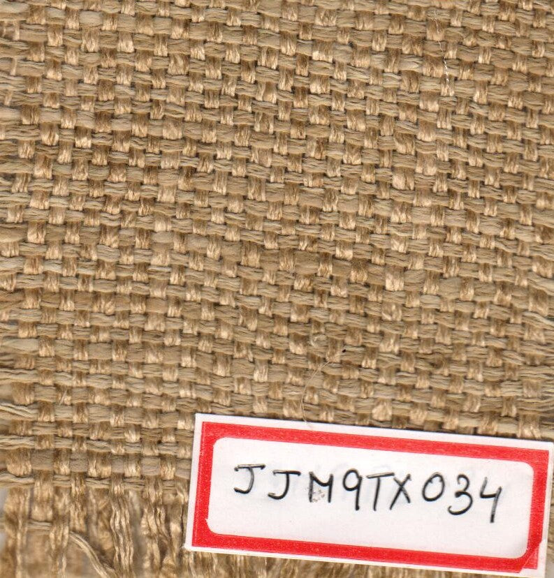 Ochre 100% Jute Textured Fabric