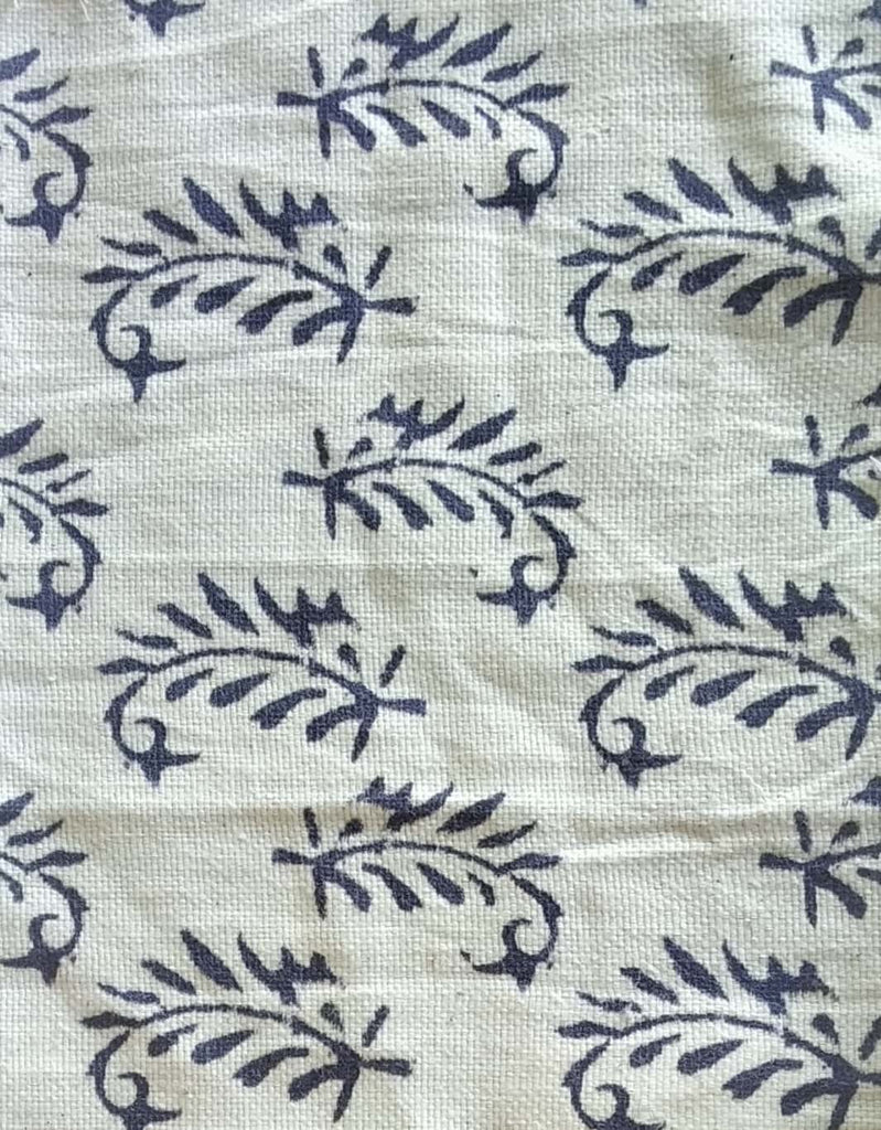 White 100% Khadi Cotton  Fabric Online