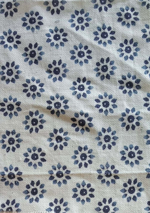 White 100% Khadi Cotton  Fabric