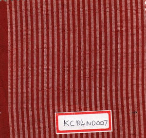 FM02_100% cotton Red Stripes Fabric