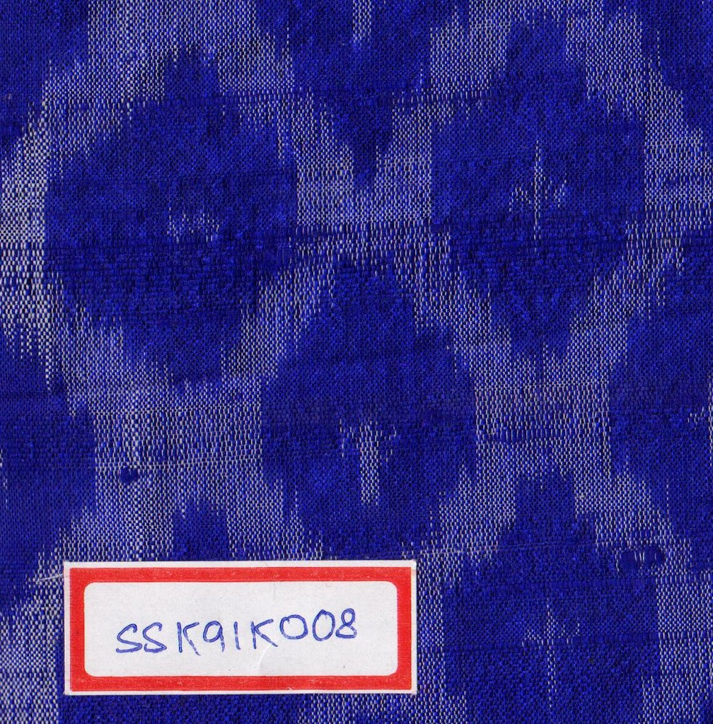 100% Silk Ikat Fabric