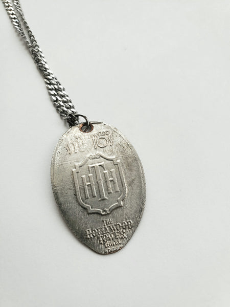 Tower of Terror Pressed Quarter Necklace