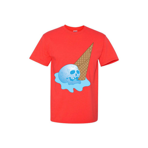 'Ice Scream' Coral T-Shirt