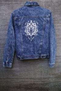 Acid Wash Dagger Jacket