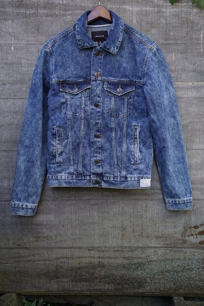 Acid Wash Dagger Jacket MEDIUM