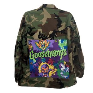 1990's Goosebumps Army Jacket