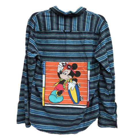 Retro Mickey Mouse Flannel