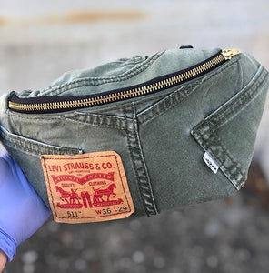 Levi's Olive Fanny Pack