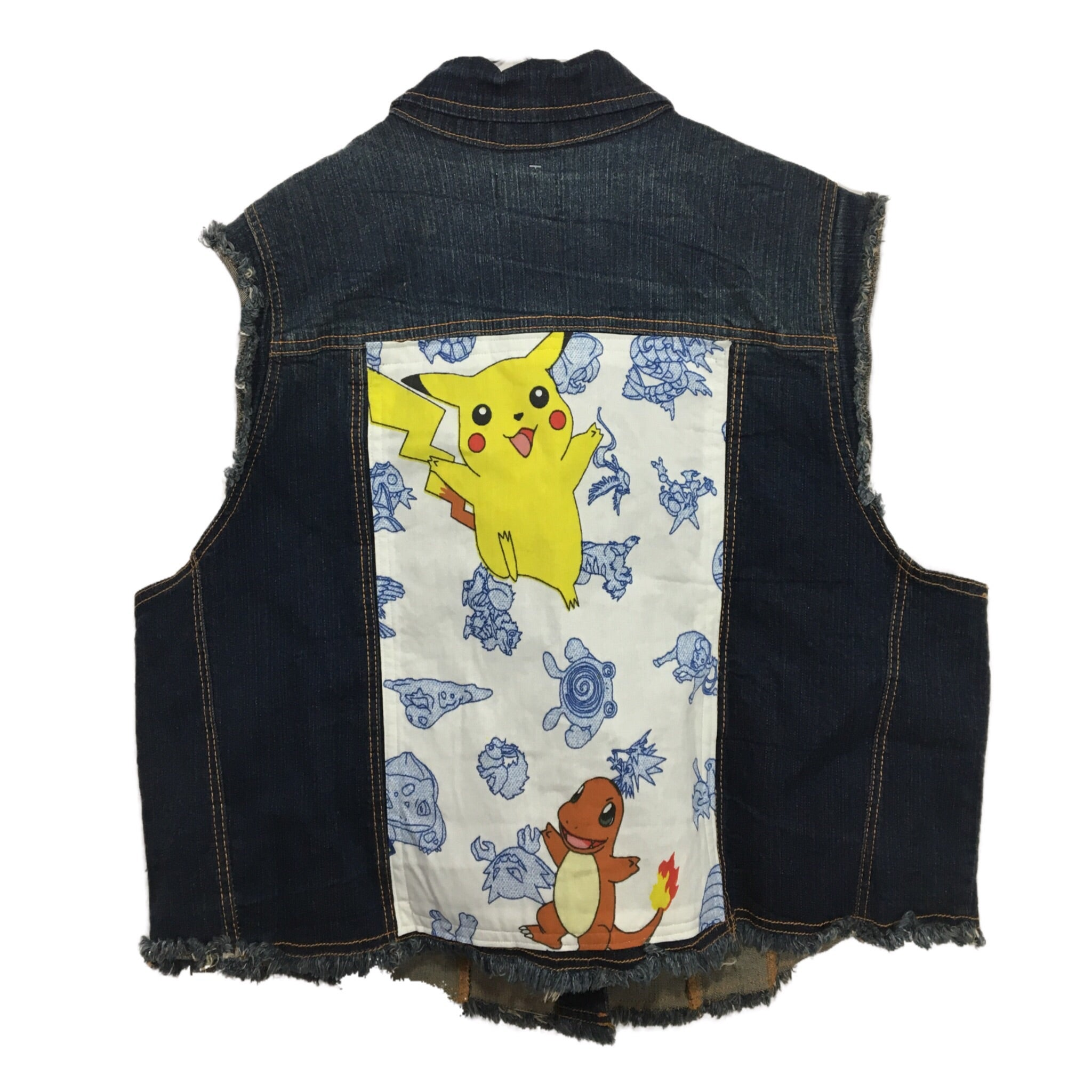 1998 Pokémon Denim Vest 3X